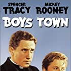 Spencer Tracy and Mickey Rooney in Boys Town (1938)
