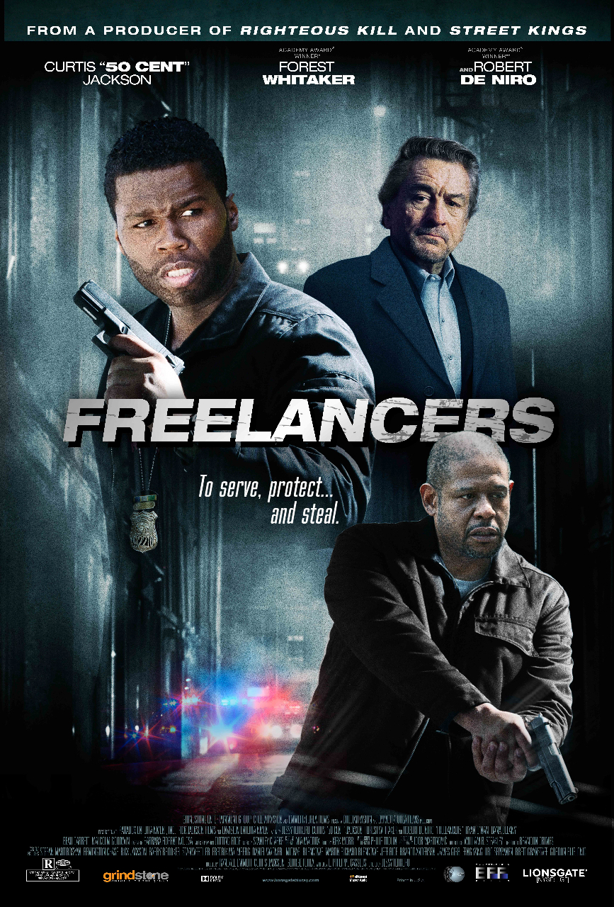 Robert De Niro, Forest Whitaker, and 50 Cent in Freelancers (2012)