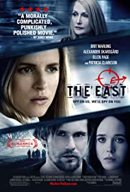 Alexander Skarsgård, Patricia Clarkson, Elliot Page, and Brit Marling in The East (2013)
