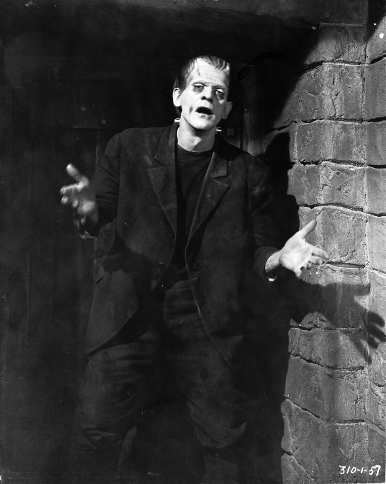 Boris Karloff in Frankenstein 1931