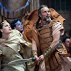 Mads Mikkelsen and Alexa Davalos in Clash of the Titans (2010)