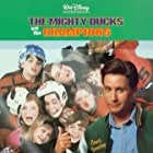 Emilio Estevez, Vincent LaRusso, Marguerite Moreau, and Shaun Weiss in The Mighty Ducks (1992)