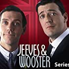 Stephen Fry and Hugh Laurie in Jeeves and Wooster (1990)