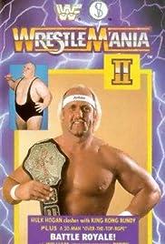 WrestleMania 2 Poster