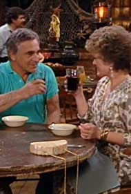 Rue McClanahan and Donnelly Rhodes in The Golden Girls (1985)