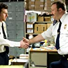 Kevin James and Keir O'Donnell in Paul Blart: Mall Cop (2009)