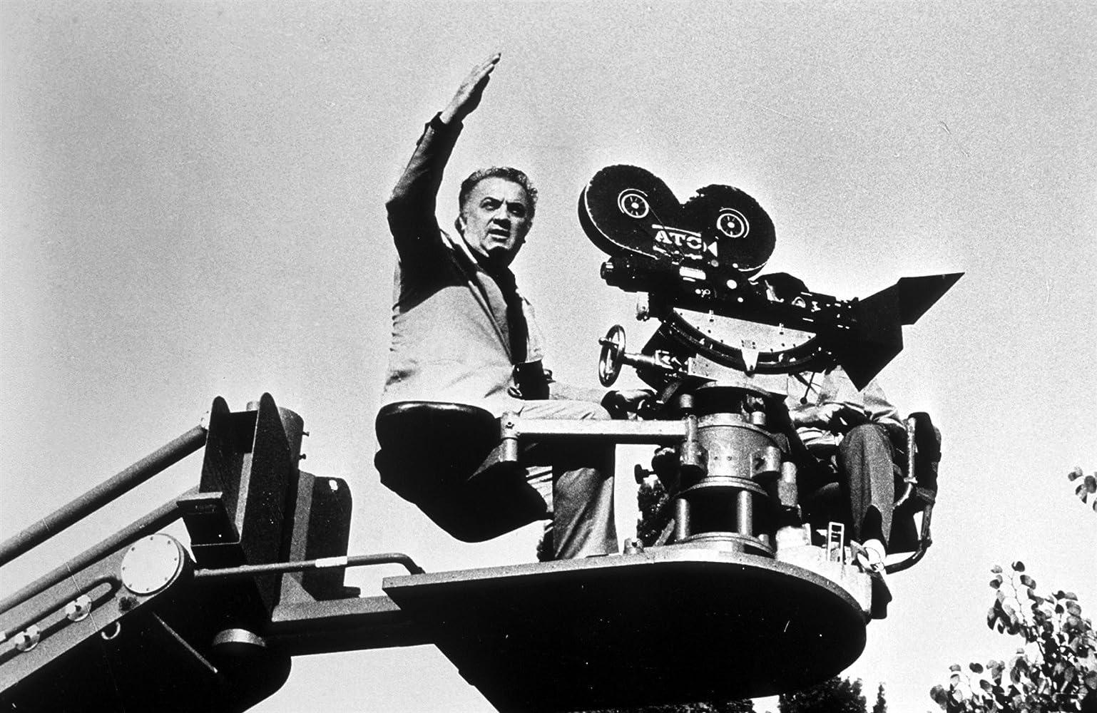 Federico Fellini and G.B. Poletto