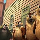 Katherine Heigl, Jeff Dunham, Gabriel Iglesias, Annick Obonsawin, and Joe Pingue in The Nut Job (2014)