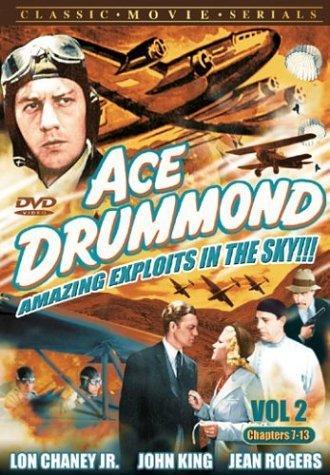 Lon Chaney Jr., John 'Dusty' King, and Jean Rogers in Ace Drummond (1936)