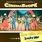 Doris Day, Angie Dickinson, Dolores Dorn, Eddie Foy Jr., Lucy Marlow, Phil Silvers, and Nancy Walker in Lucky Me (1954)