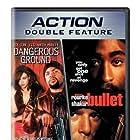 Elizabeth Hurley, Mickey Rourke, Tupac Shakur, and Ice Cube in Bullet (1996)