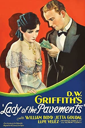 D.W. Griffith Lady of the Pavements Movie