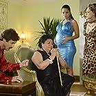 Sônia Braga, Paula Garcés, Eddie McClintock, and Teresa Yenque in Warehouse 13 (2009)