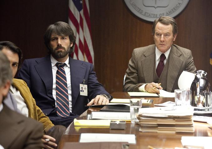 Ben Affleck and Bryan Cranston in Argo (2012)