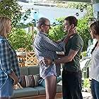 Jenna Elfman, Mila Kunis, Justin Timberlake, and Richard Jenkins in Friends with Benefits (2011)