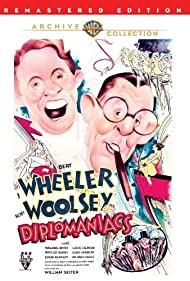 Bert Wheeler and Robert Woolsey in Diplomaniacs (1933)