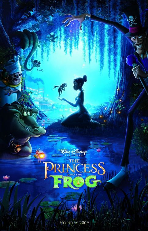The Princess and the Frog (2009) BluRay 480p, 720p & 1080p