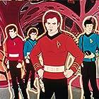 Leonard Nimoy and DeForest Kelley in Star Trek (1973)