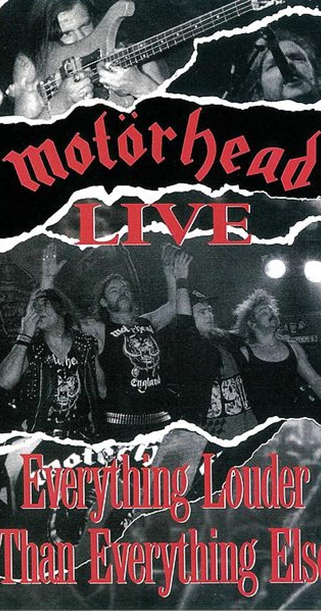 Motörhead: Motörhead Live - Everything Louder Than Everyone