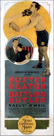 Buster Keaton and Sally O'Neil in Battling Butler (1926)