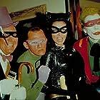 Cesar Romero, Frank Gorshin, Burgess Meredith, and Lee Meriwether in Batman: The Movie (1966)