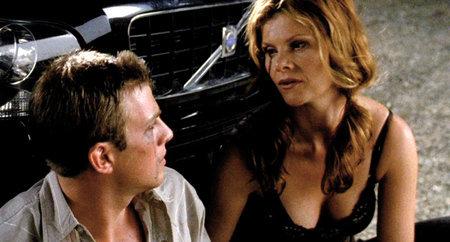 Erik (Andreas Wilson) and Lola (Lolita Davidovich) in 'Kill Your Darlings'. Dir: Bjorne Larson