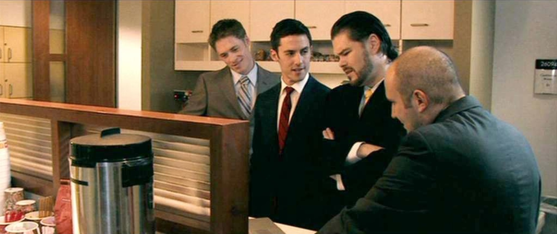 Ryan Daniel Dobson, Milo Ventimiglia Chip Joslin and Michael Kass from Order of Chaos.