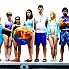 The Big Bad Swim Class. L to R: Ricky Ullman, Avi Setton, Crystal Bock, Liza Lapira, Judy Cole, Terria Joseph, Emma Galvin, Paget Brewster, Jeff Branson, Jess Weixler, Kevin Porter Young, Ostaro, Darla Hill and Todd Susman.