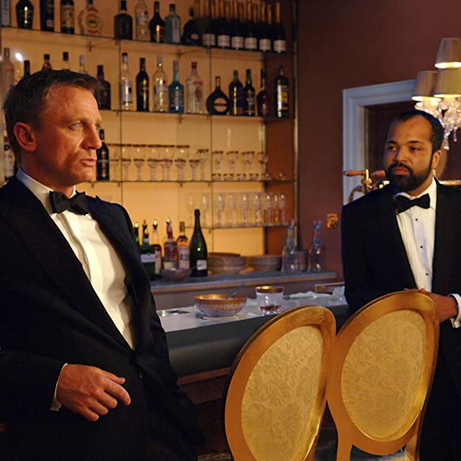 Daniel Craig and Jeffrey Wright in Casino Royale (2006)