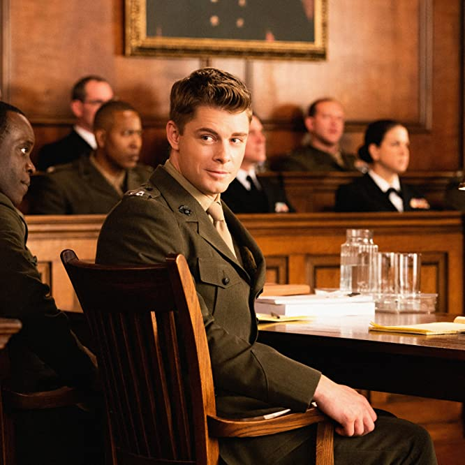 Ato Essandoh and Luke Mitchell in The Code (2019)