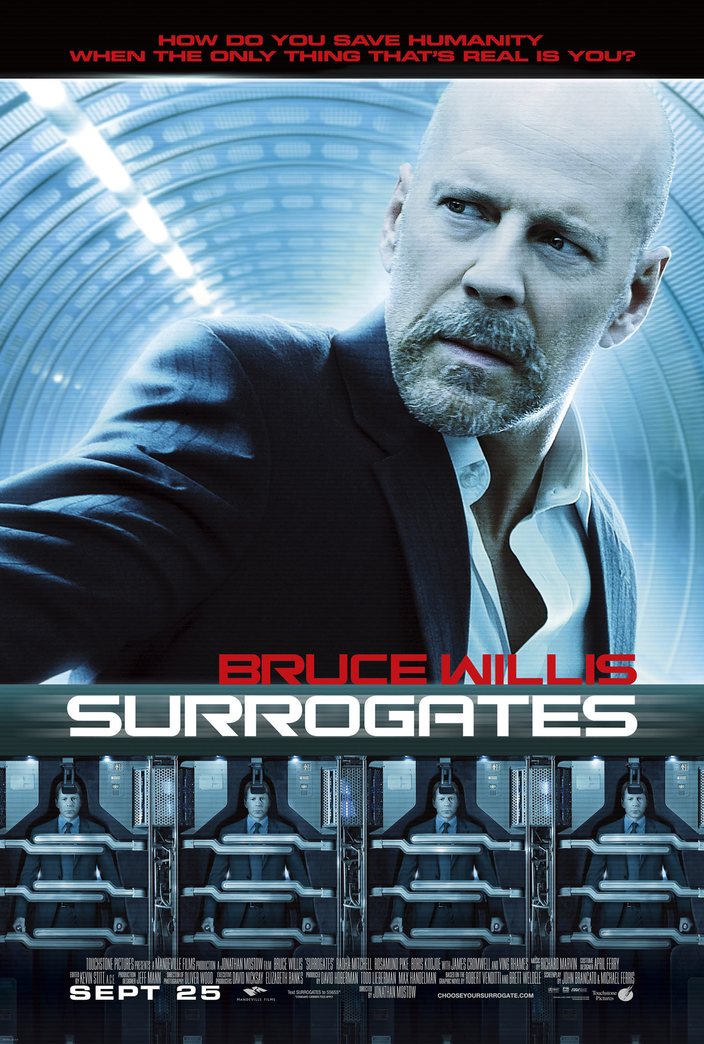 Surrogates 2009 Imdb Short Circuit Movie Posters From Poster Shop