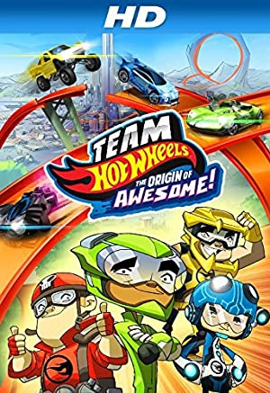 Team Hot Wheels The Origin of Awesome 2014 Movie Poster