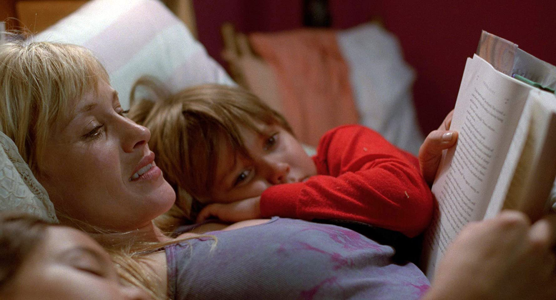 Patricia Arquette and Ellar Coltrane in Boyhood (2014)