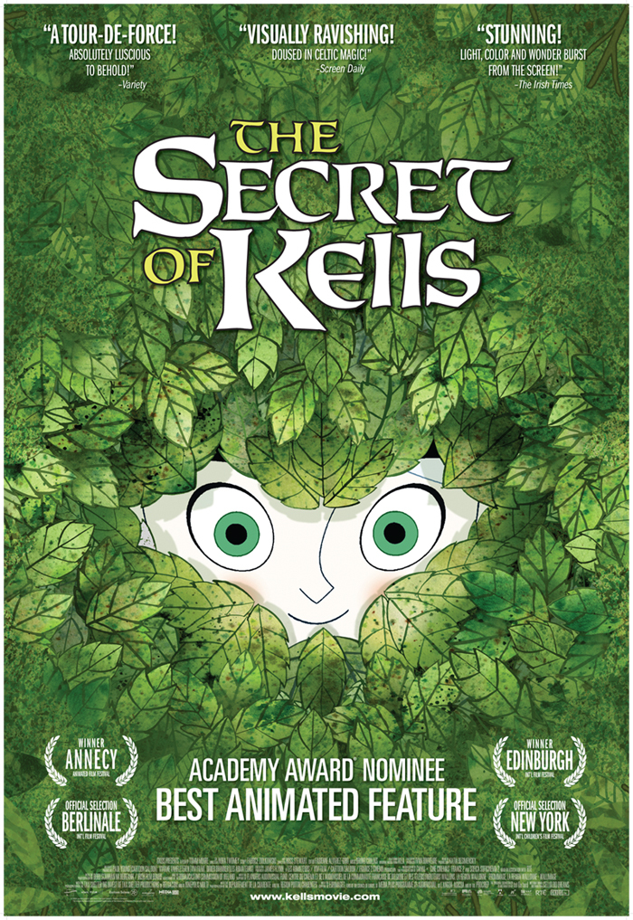 The Secret of Kells (2009) BluRay 480p, 720p & 1080p
