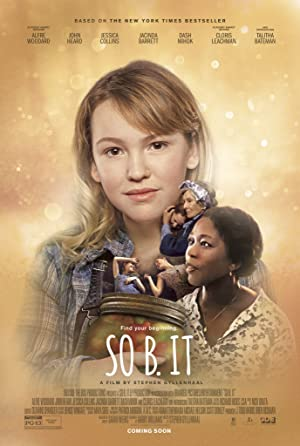 So B. It poster