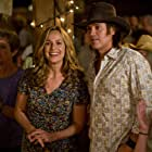 Melora Hardin and Billy Ray Cyrus in Hannah Montana: The Movie (2009)