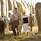 Reese Witherspoon, Tim Guinee, Stephen Kearin, Robert Pattinson, Tai, and Uggie in Water for Elephants (2011)