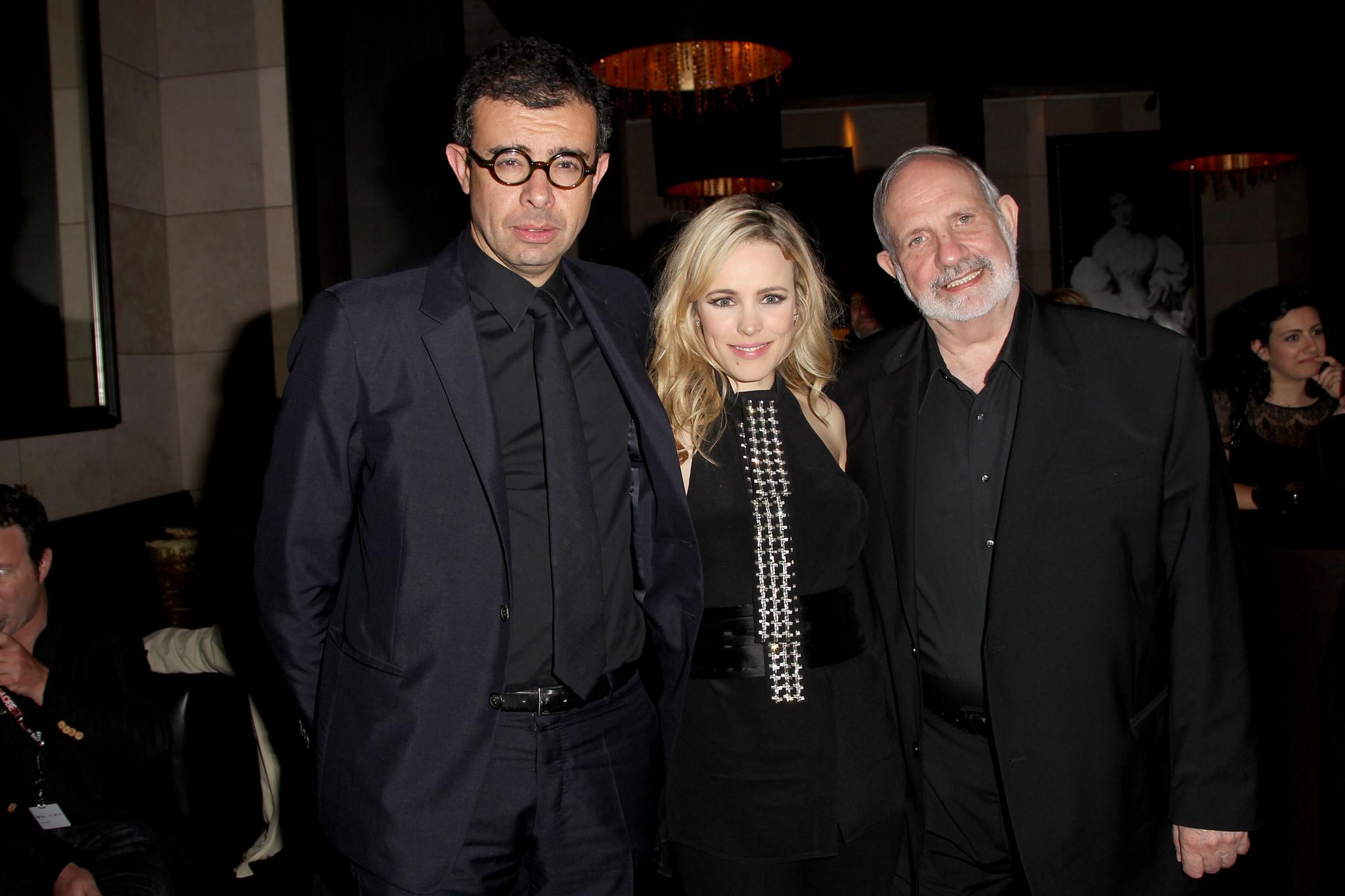 Brian De Palma, Saïd Ben Saïd, and Rachel McAdams at an event for Passion (2012)