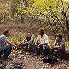 Matthew McConaughey, Jeff Nichols, Tye Sheridan, and Jacob Lofland in Mud (2012)