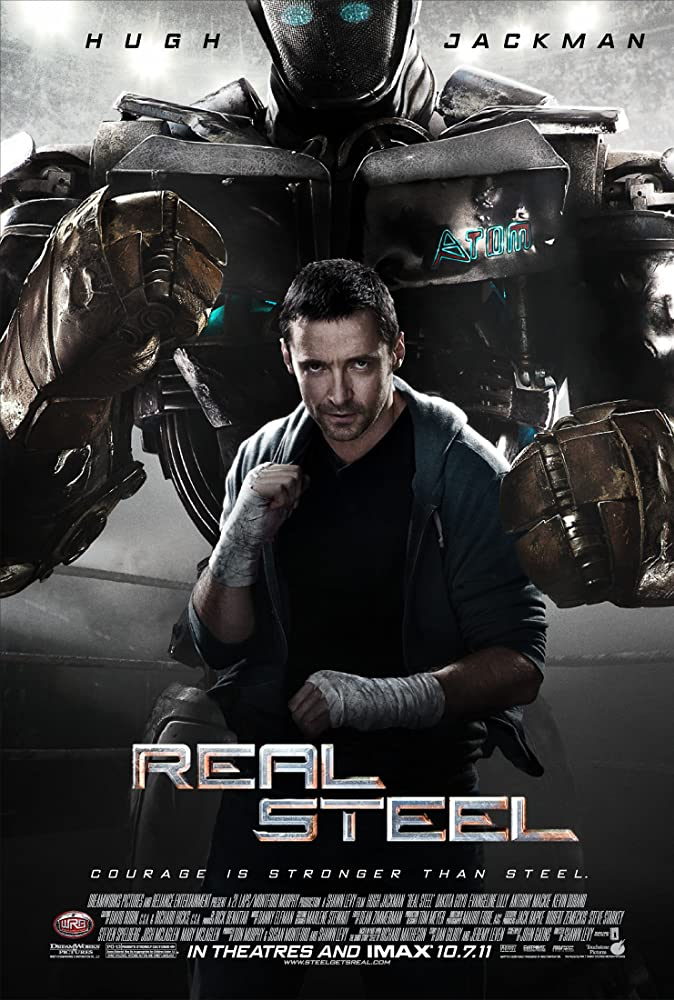 Real Steel (2011) Dual Audio 720p BluRay x264 [Hindi – English] ESubs