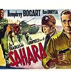 Humphrey Bogart and Dan Duryea in Sahara (1943)