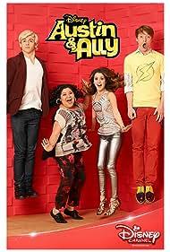 Calum Worthy, Laura Marano, Raini Rodriguez, and Ross Lynch in Austin & Ally (2011)