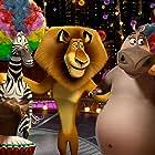 Jada Pinkett Smith, Chris Rock, David Schwimmer, Martin Short, Ben Stiller, Bryan Cranston, and Jessica Chastain in Madagascar 3: Europe's Most Wanted (2012)