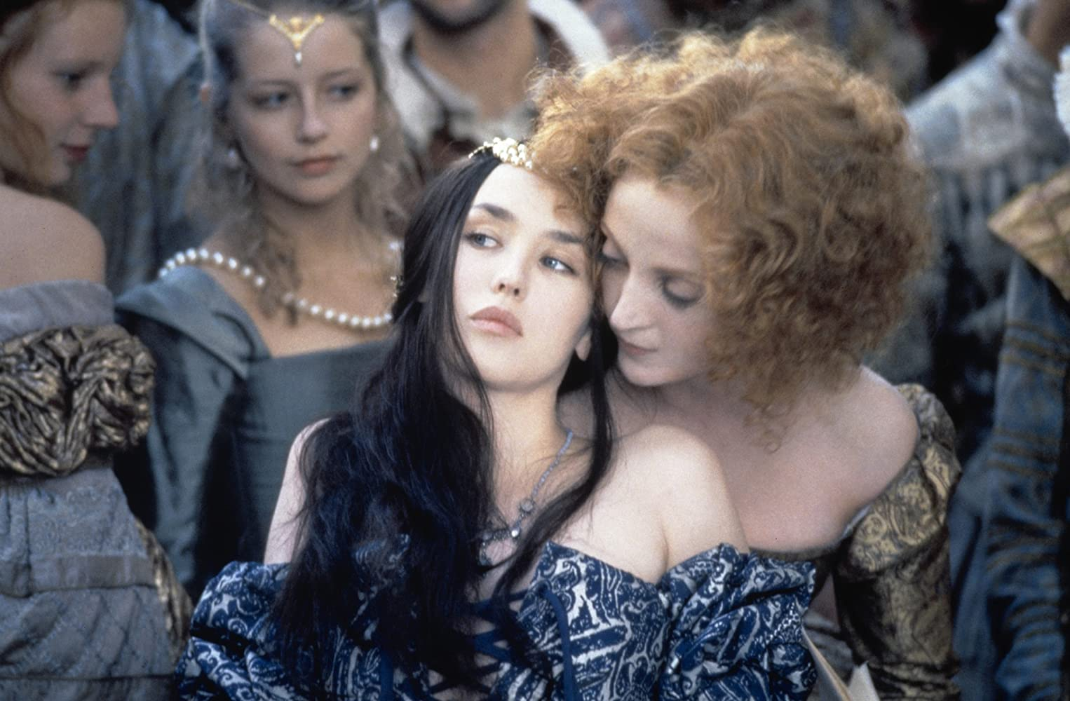Isabelle Adjani, Dominique Blanc, and Laure Marsac in La Reine Margot (1994)