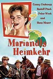Mariandls Heimkehr Poster