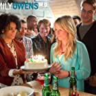 Mamie Gummer, Justin Hartley, and Kelly McCreary in Emily Owens M.D. (2012)
