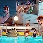 Adam Sandler, Kathryn Hahn, Keegan-Michael Key, Selena Gomez, Andy Samberg, and Asher Blinkoff in Hotel Transylvania 3: Summer Vacation (2018)