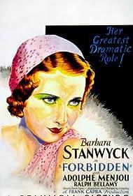 Forbidden (1932) Poster - Movie Forum, Cast, Reviews