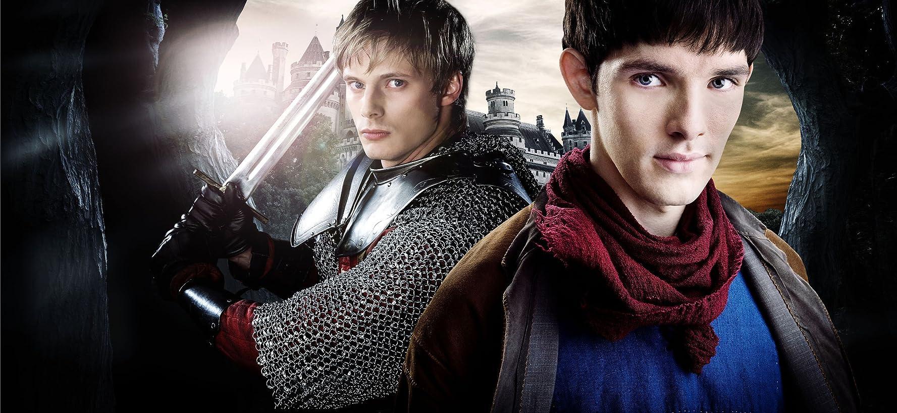 Arthur en Merlin