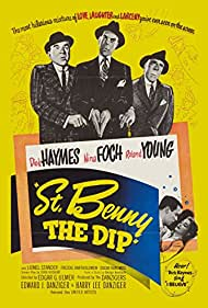 Nina Foch, Dick Haymes, Lionel Stander, and Roland Young in St. Benny the Dip (1951)